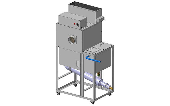 CN5-B型加工機浄化脱臭型